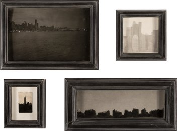 A Group of Four Cityscapes