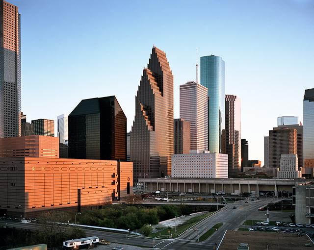 , 'Houston Skyline,' 1988, Flowers