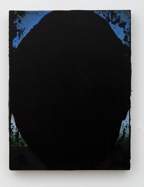 , 'Black Oval III,' 2013, Oliver Sears Gallery