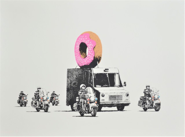 Banksy, 'Donuts (Strawberry)', 2009, Long-Sharp Gallery