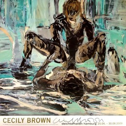 """Cecily Brown"", Deichtorhallen Hamburg, Germany (Signed)"