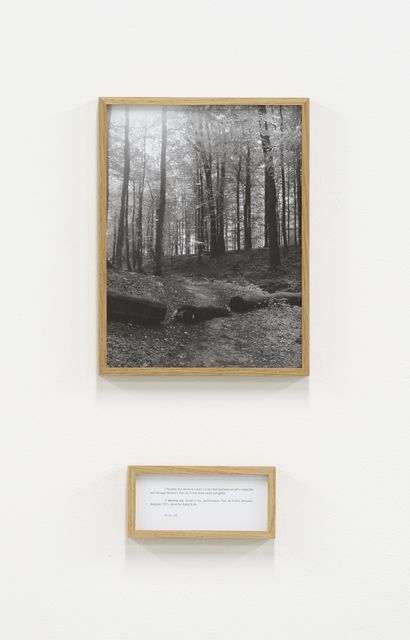 , 'V drevesu (Inside a tree), from the series Performances,' 2011, PROYECTOSMONCLOVA