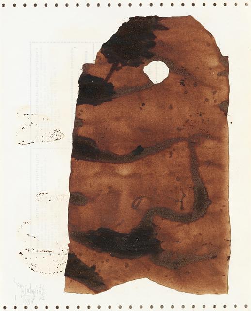, 'Soy Sauce Drawings 2 酱油画 2,' 1988, Ink Studio