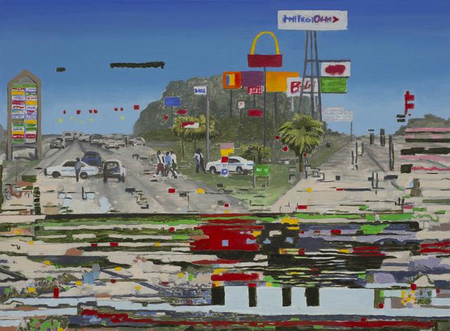, 'Distortion 15 (Route 66),' 2017, Bert Green Fine Art