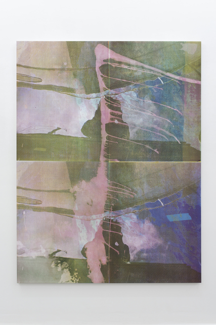 Baptiste Caccia, 'Le Bateau de Paulo', 2018, Painting, Silkscreen and acrylic on canvas, Super Dakota