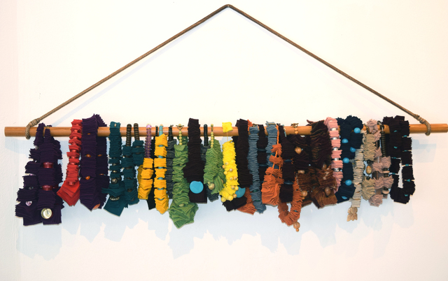 Ella Veres, '35 Suspended Necklaces and Bracelets', 2017, Fountain House Gallery