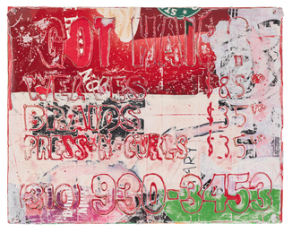 Mark Bradford, 'Untitled (MB 9693),' 2009, Sotheby's: Contemporary Art Day Auction