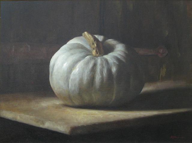 , 'White Pumpkin,' 2010, Cavalier Galleries
