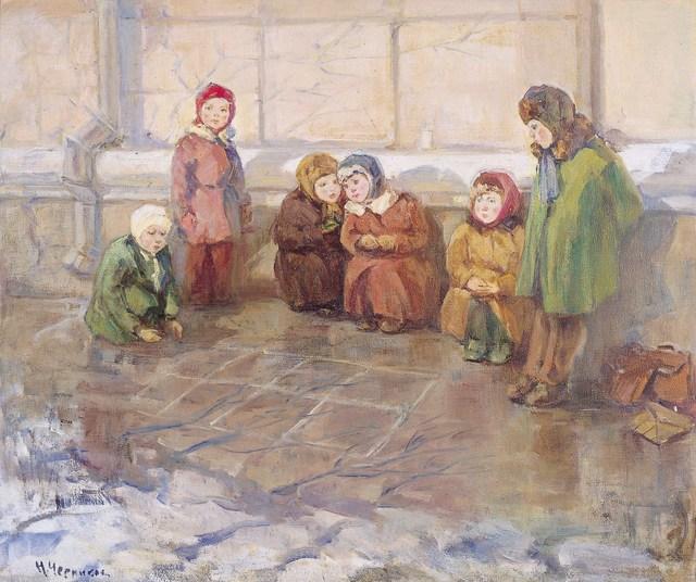 Nadezhda Eliseevna Chernikova, 'Spring', Surikov Foundation