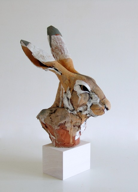 , 'Hare Head,' 2016, Castlegate House Gallery