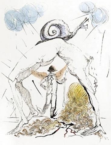 Salvador Dalí, 'Femme a l'Escargot (Woman with Snail)', 1967, Puccio Fine Art