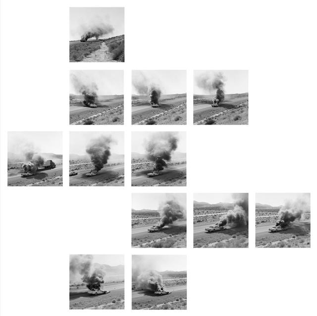 Jeff Brouws, 'October 21, Needles, California Portfolio', 1995, Robert Mann Gallery