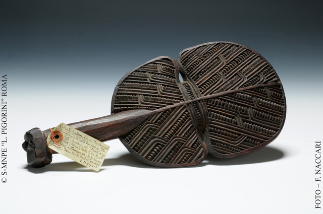 , 'liver-splitting ax knife from New Zealand,' , Triennale Design Museum