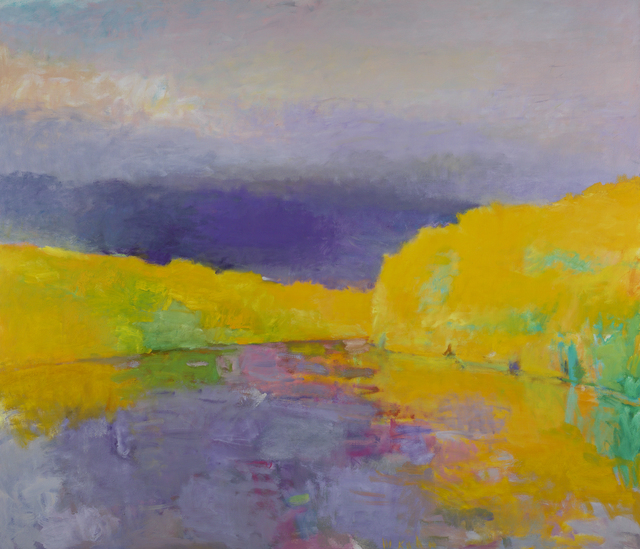 , 'Yellow River Bend,' 1994, Debra Force Fine Art