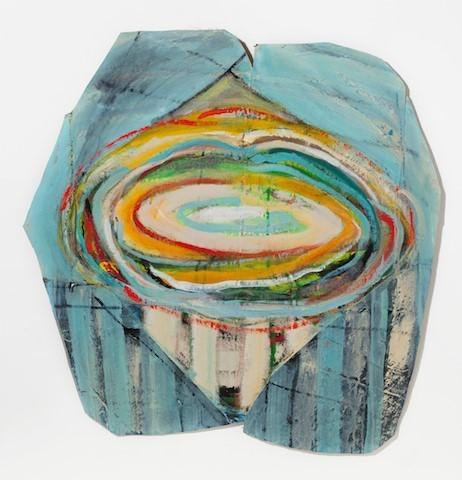Ellen Rich, 'Center Swirl', 2018, The Schoolhouse Gallery