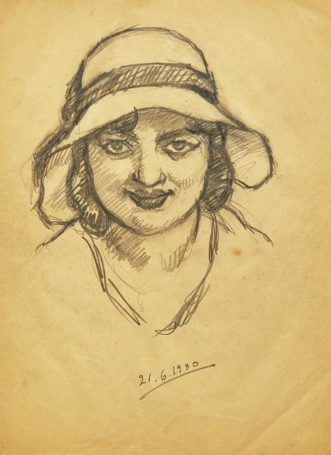 , 'Untitled (Self Portrait),' 1930's, AkaraArt