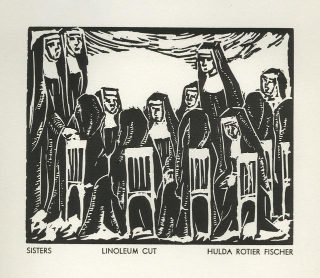 Hulda Rotier Fischer, 'Sisters', 1936, David Barnett Gallery