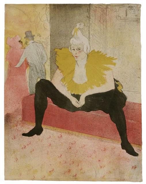 , 'La Clownesse Assise,' 1896, David Tunick, Inc.
