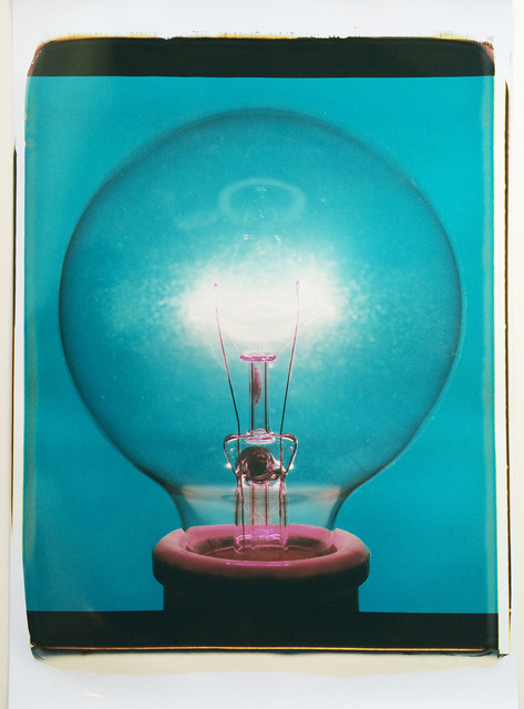 , 'Polaroid Light Bulb 1,' 2016, Page Bond Gallery
