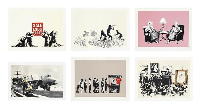 Banksy, 'Barely Legal LA Set - Unsigned', 2006-2007, Hang-Up Gallery