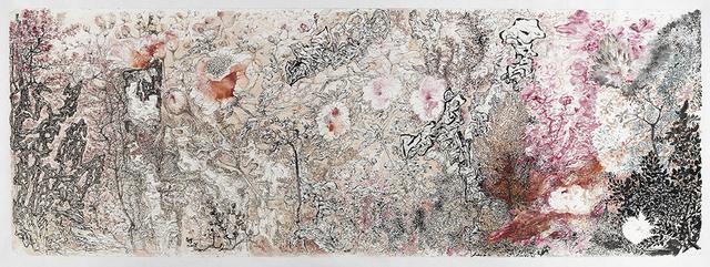 , '花石翻飞,' 2015, Line Gallery