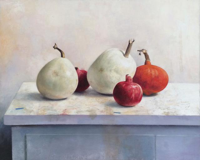 Jim Phalen, 'White Pumpkins', 2017, Dolby Chadwick Gallery