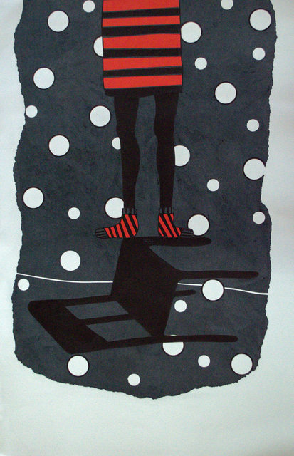 "David Thuku, 'Series ""Empty seats"" - Untitled IV', 2019, Drawing, Collage or other Work on Paper, Papercuts (sgraffito), Out of Africa Gallery"