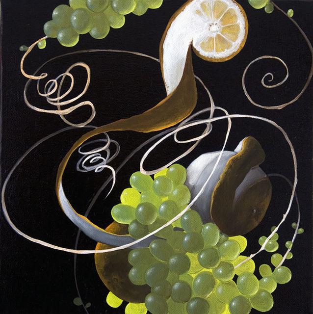 , 'Still Life with Citrus and Grape II,' 2011, Sloan Fine Art
