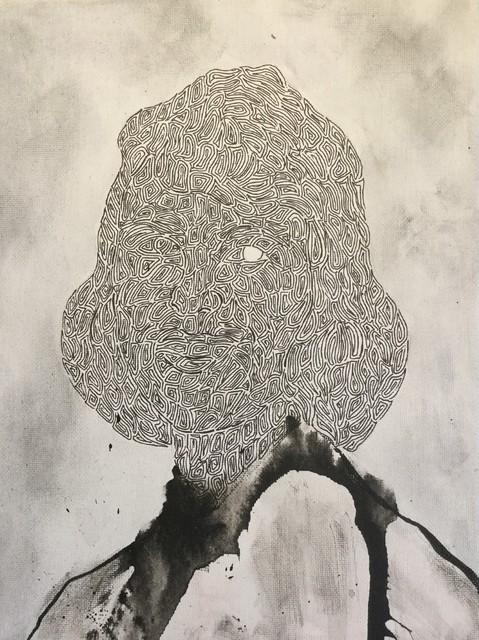 , 'Plath (Student),' 2019, SinArts Gallery