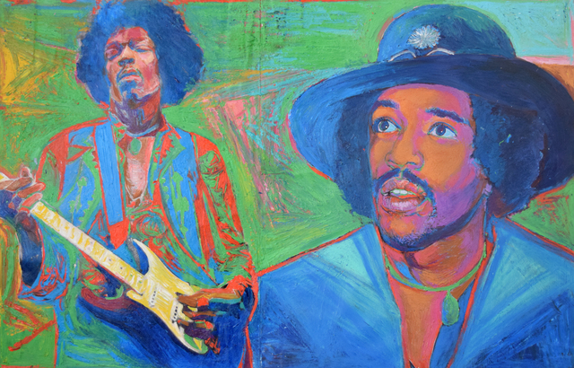 , 'Jimi Hendrix,' 2004, Fountain House Gallery