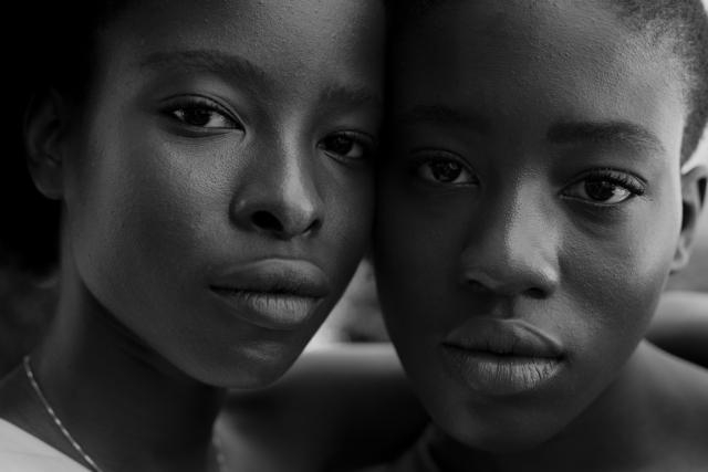 "Shawn Theodore, '""Sororibus"" - Poet Laureate Amanda Gorman with her twin sister, GabrielleGorman', 2018, Photography, Archival Pigment Print on Hahnemühle Rag Paper, Paradigm Gallery + Studio"