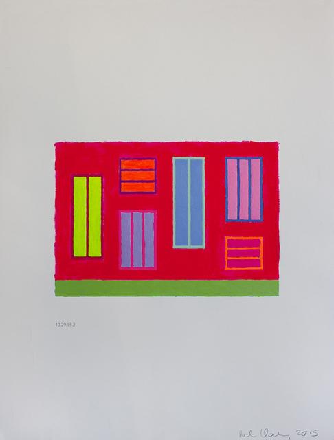 , 'Untitled (10.29.15.2),' 2015, Galeria Senda