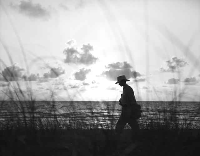 Christy Gast, 'Self Portrait as the Barefoot Mailman,' 2013, Nina Johnson
