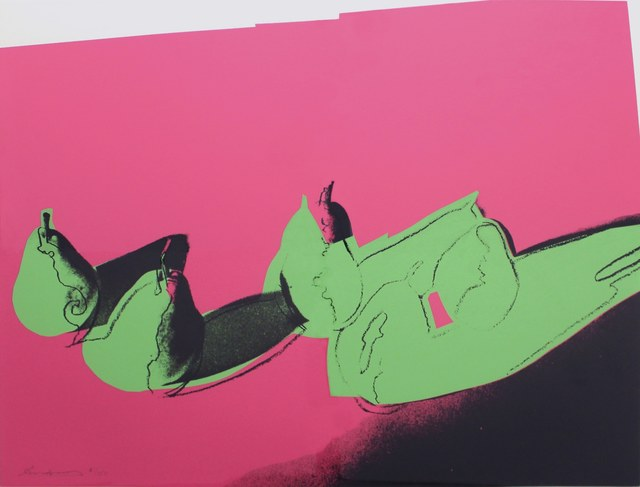 Andy Warhol, 'Space Fruit: Pears (FS II.203)', 1979, Print, Screenprint on Strathmore Bristol paper, Revolver Gallery