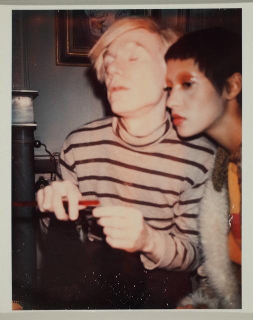 , 'Andy Warhol and Carol La Brie,' 1970, Frye Art Museum