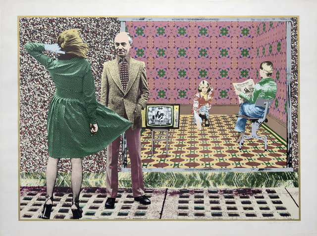 Tim Mara, 'The Stage and Television Today', 1975, Flowers