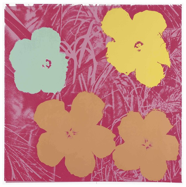 Andy Warhol, 'Flowers: one plate', 1970, Christie's