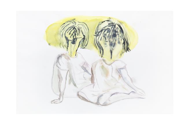 , 'Sin título (dos niñas),' 2019, kurimanzutto