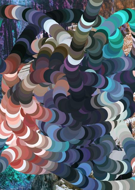 , 'From the Lamella series, paintedwithitself, thewesterngardesanaroad #03.,' 2015, MATÈRIA