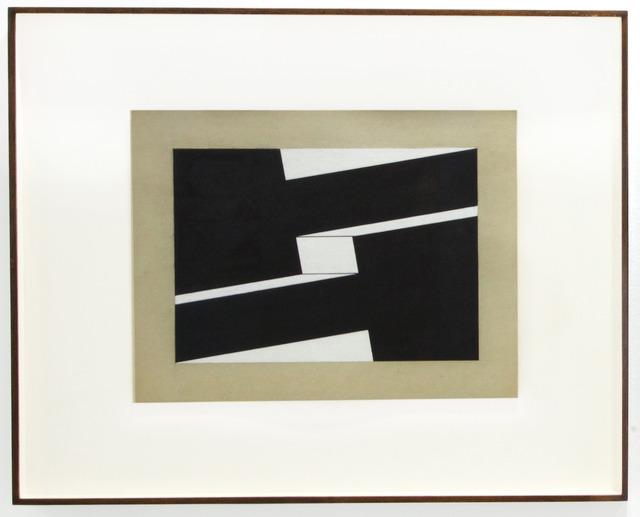 , 'Metaesquema 234,' 1958, LURIXS: Arte Contemporânea