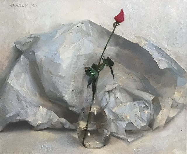 Paul Rahilly, 'Rosebud', 1990, Painting, Oil on canvas, Gallery NAGA