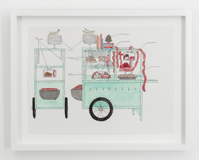 , 'Foodcart for Brasilia,' 2015, Denny Gallery