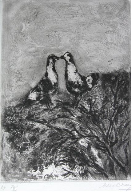 Marc Chagall, 'Les Deux Pigeons', 1927-1930, Wallector