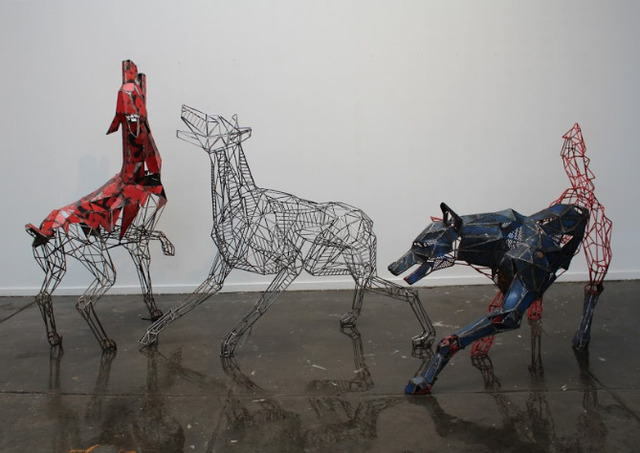 , 'When Wolves Cry,' 2019, West End Art Space