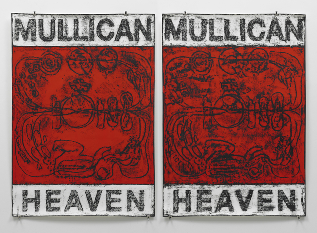 , 'Untitled (Poster Heaven / red),' 2012, Mai 36 Galerie