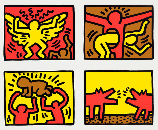 Keith Haring, 'Pop Shop Quad IV', 1989, Pace Prints