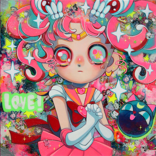 , 'Love My Little Princess (Sailor Moon),' 2018, Modern Eden