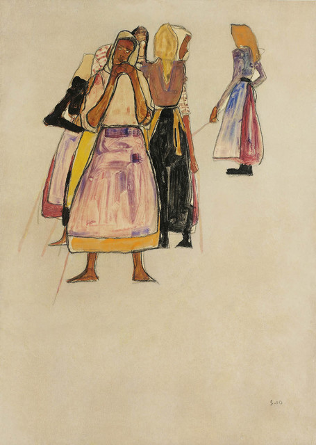 , 'Peasant Women,' 1910, Galerie Bei Der Albertina Zetter