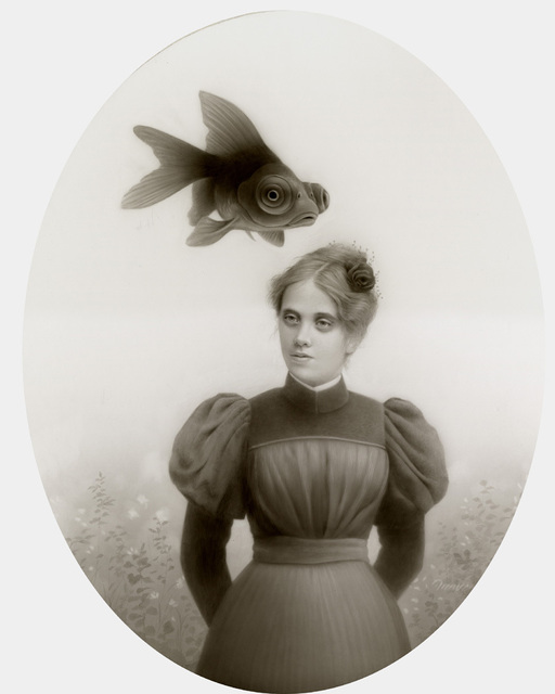 Travis Louie, 'Miss Lila and her Black Fish ', 2014, KP Projects