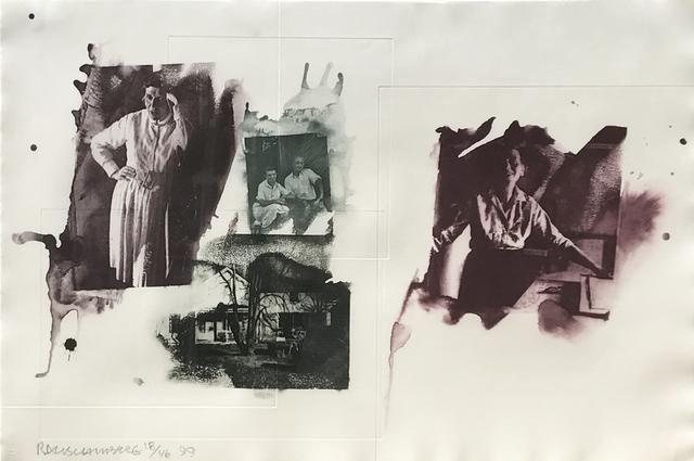 Robert Rauschenberg, 'Tanya', 1999, Print, Intaglio in four colors with photogravure, Eckert Fine Art